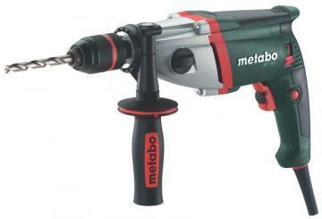 "Metabo 1/2"" Electric Drill, 6.5A, Pistol Grip, 0-1000 / 0-3100 RPM, 120V"