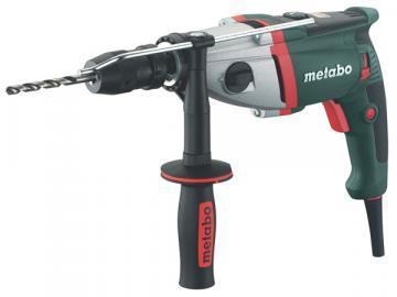 "Metabo 1/2"" Electric Drill, 9.6A, Pistol Grip, 0-900 / 0-2800 RPM, 120V"
