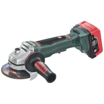 "Metabo 4-1/2"" LTX Cordless Angle Grinder Kit, 18V, 9000 No Load RPM"