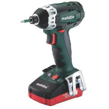 "Metabo 1/4"" Hex Cordless Impact Driver Kit, 18V"