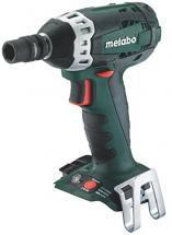 Metabo Cordless Impact Wrench, 18V, 929/1283/1947 Max. Torque