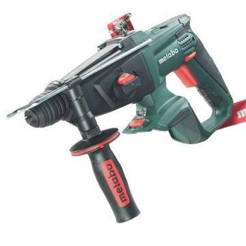 Metabo Cordless Rotary Hammer, 18V, 0-4000 Blows per Minute