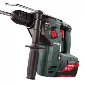 Metabo Cordless Rotary Hammer Kit, 36V, 0-4500 Blows per Minute