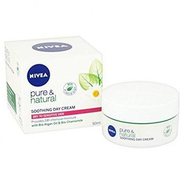Nivea Visage Pure & Natural Soothing Day Cream, 50ml