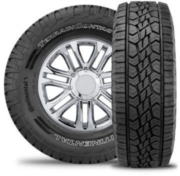 Continental TerrainContact A/T 225/60R17 99H All-Terrain Radial Tire