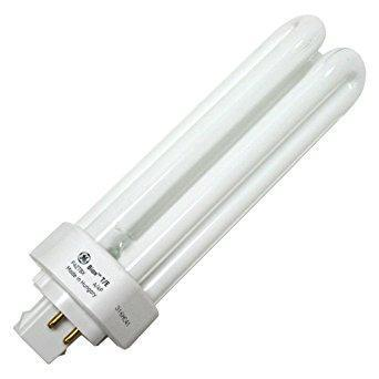GE 42W T4 4-Pin GX24q-4 2,700K Warm White Triple Tube CFL Bulb