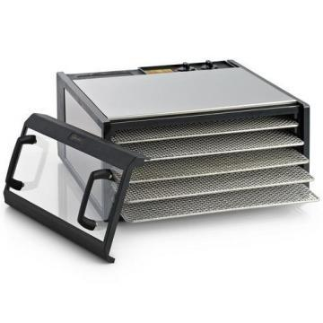 Excalibur D500CDSHD 5-Tray 26-Hour SS Trays Clear Door Dehydrator