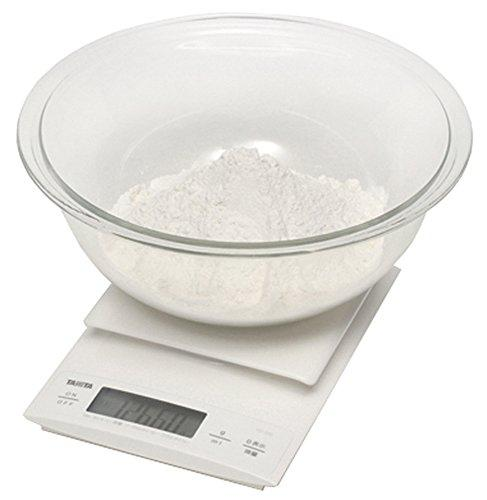 Tanita KD-192 White Digital Cooking Scale