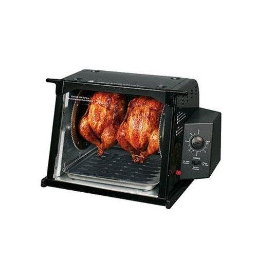 Ronco 3002 Rotisserie Electric Oven, Black