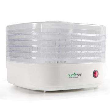 NutriChef PKFD06 Electric Countertop Food Dehydrator