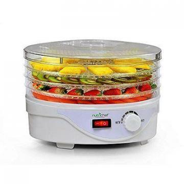 NutriChef PKFD08 Electric Countertop Food Dehydrator