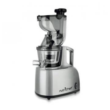 NutriChef PKSJ40 Countertop Masticating Slow Juicer Juice and Drink Maker