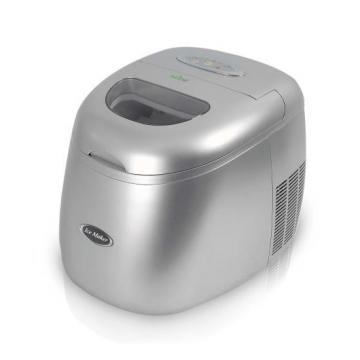 NutriChef PICEM15 Portable Countertop Ice Maker