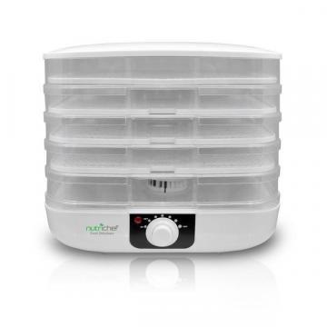 NutriChef PKFD17 Electric Food Dehydrator & Hanging Food Preserver