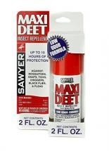 Sawyer Premium Maxi-DEET Insect Repellent, Pump Spray, 2 oz.