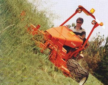 Kut Kwick Super Slope Master land clearing slope mower