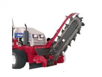 Ventrac KY400 Trencher attachment
