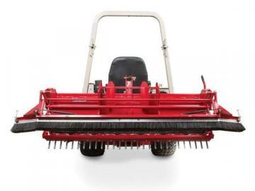 Ventrac DR540 Ballpark Groomer attachment