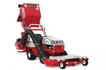 Ventrac RV602 Vacuum Collection System attachment