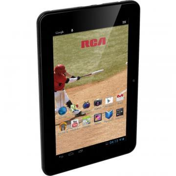 "RCA DAA730R 7"" Smart Portable TV with Built-in Android Tablet"