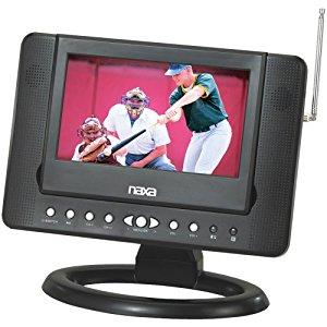 "Naxa NTD-7561 7"" Widescreen LCD TV with DVD/USB/SD/MMC"