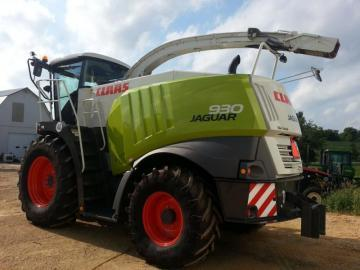 CLAAS Jaguar 930 Forage Harvester
