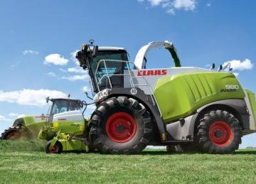CLAAS Jaguar 980 Forage Harvester