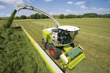 CLAAS Jaguar 850 Forage Harvester