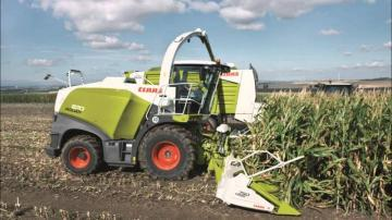 CLAAS Jaguar 870 Forage Harvester