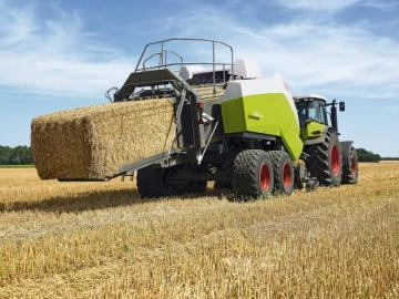 CLAAS Quadrant 3400 RC Square Baler