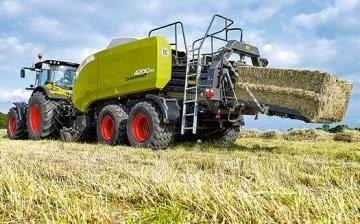 CLAAS Quadrant 4200 RC Square Baler