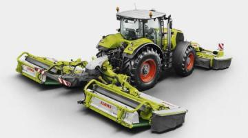 CLAAS Disco 9200 C Autoswather Disc Mower