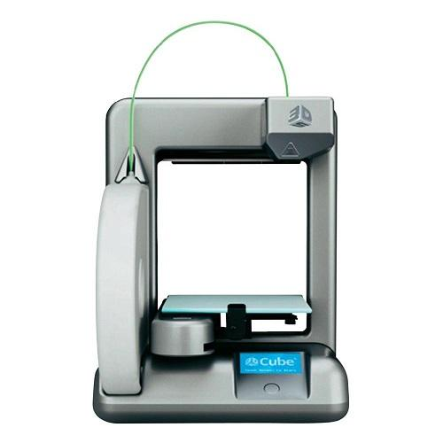 3D Systems Cube 2nd Generation 3D Printer Silver