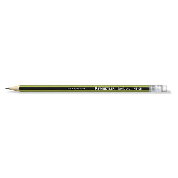 Staedtler Noris Eco 182 30 Premium Quality Pencil with Eraser Tip