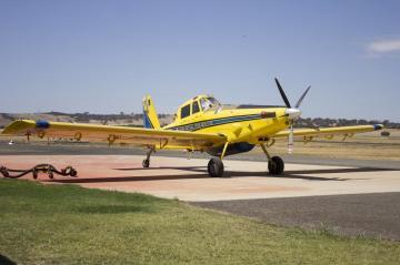 Air Tractor AT-802 two seat agricultural aircraft