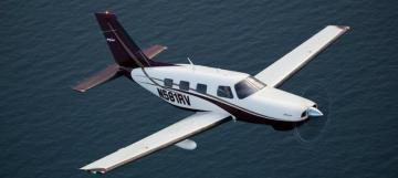 Piper PA-46-350P Malibu Mirage light aircraft