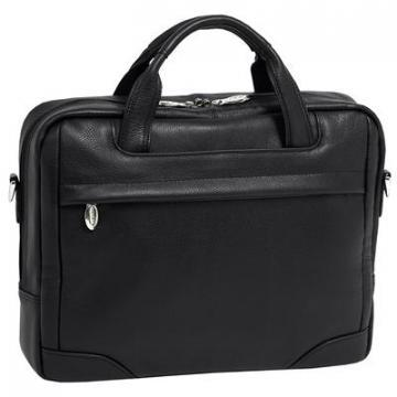 McKleinUSA Bronzeville Leather Laptop Briefcase