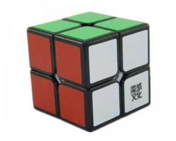 D-FantiX Moyu Lingpo 2x2 Speed Cube Stickerless 50mm