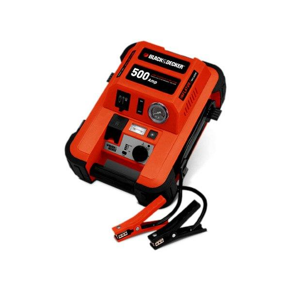 Black & Decker 500A Jump Starter with Inflator