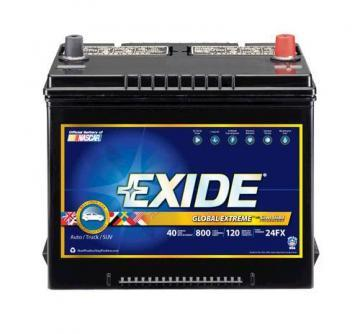 Exide 24FX Global Extreme Battery