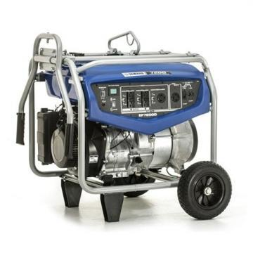 Yamaha EF7200D 6000/7200W Generator with Wheel Kit