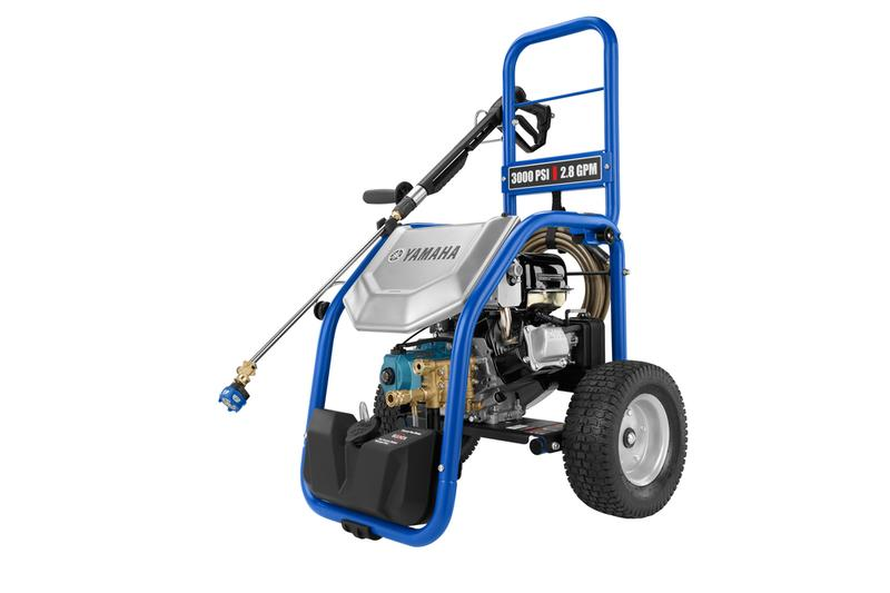 Yamaha PW3028B 3000 PSI 2.8 GPM Pressure Washer with Cat Pump