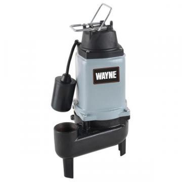 Wayne WCS50T Cast-Iron Sewage Pump With Piggyback Tether Switch