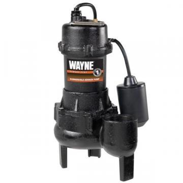 Wayne RPP50 1/2 HP Cast-Iron With Tether Switch Sewage Pump