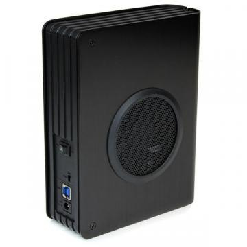 "StarTech 3.5"" USB 3.0 SATA Hard Drive Enclosure with Fan"