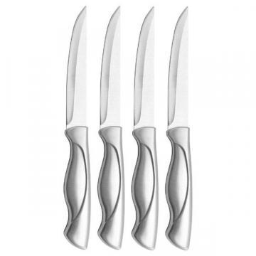 Farberware Stamped Stainless Steel 4-piece Steak Knife Set