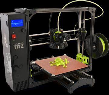LulzBot TAZ 6 Large Format 3D Printer