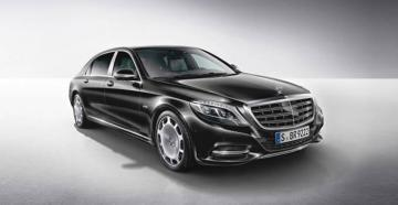 Mercedes-Maybach S 500 Luxury Car