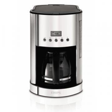 Krups KM730D 12-cup Glass Carafe Coffee Maker