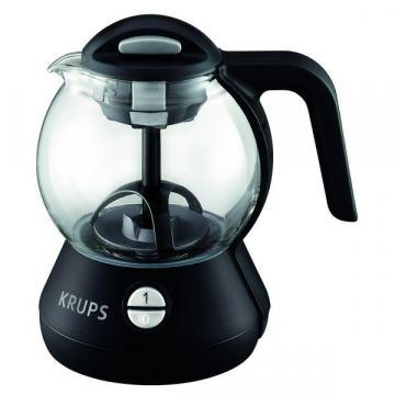 Krups FL702850 1-liter  Glass Tea Kettle with Infusion Basket